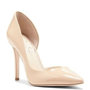 Jessica Simpson Blush Prizma d'Orsay Heels